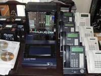 FOR SALE: Panasonic KX-TDA100 PBX As is in a bundle