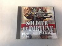 SOLDIER OF FORTUNE (PAYBACK) PC Game priced at only