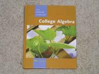 I have a gently used college algebra book MAT121 I used