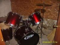 5 piece PDP drum kit with extras. Pretty good