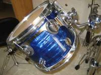 TOM IS BRAND NEW AND IN MINT CONDITION AND PDP DRUMS