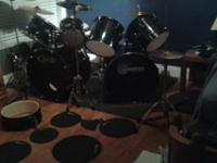 For sale or trade I have a 16 piece drumset. The set is