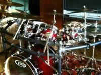 Description OBO Complete drumsetbin immaculate
