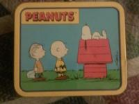 Peanuts collector lunch box finally up for sale. With