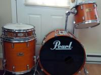 Excellent Condition~3 pc Pearl Prestige Session Select