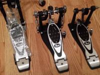 Pearl double bass drum pedal- POWER SHIFTER ELIMINATOR