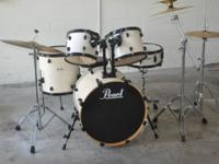 This is a Pearl Brand Forum series drum kit with an