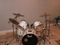 All Maple Shell VMX925 Pearl Drums:.  Drum sizes:. 22""