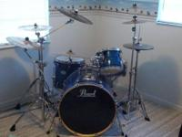 I have a Pearl Export Series drum kit for sale. 4 drums