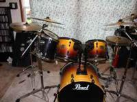 I'm selling my Pearl Export Selects this kit includes