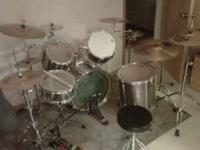 i have a pearl drum set with dw 5000 kick pedals,