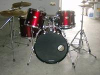 THIS IS A REALLY NICE RED WINE PEARL FORUM 4 PIECE SELL