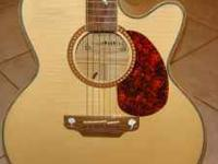 GALVESTON ACOUSTIC ELECTRIC GUITAR - MODEL 050 HMP42 -