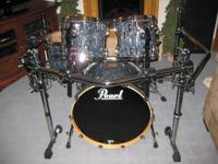 4 (four) piece Pearl Master Retro Spec Drum Set $1,595