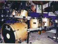 For sale are my Pearl MMX Master Series Drums. These
