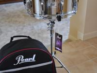 Type: Drums Pearl SK-900 snare drum kit with back pack.