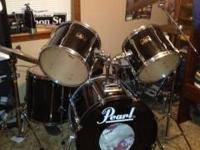 Pearl Export Series : 5 piece set ~ drum heads