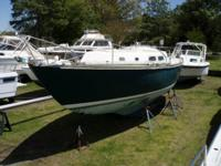 1969 Pearson 35 Sailboat. Regarded as a task however