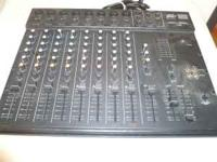 NICE PEAVEY UNITY 1000 NONEPOWERED 8 CHANNEL MIXER!!