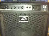 Selling my Peavey 112 Bass Amp Works Good Asking $100