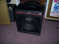 This bass amp is new. It has never been out of the