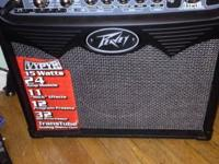 Peavey VYPYR 15 watt electric guitar amp. Basically new
