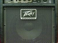 Peavey 158 Bass Guitar Amplifier, good condition. Can