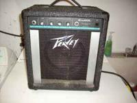 I have a Peavey Micro Bass Amp, has 20 watts rms at 4