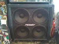 this listing is for a Peavey 4x12 cabinet, it's in