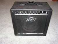 Peavey Rage 158 Transtube Amp. Ultra Guitar Stand - in