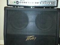 Peavey B52 tube type AT-100 100watt amplifier plus a