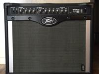 The Peavey Bandit 112 guitar amp has 100 watts of power
