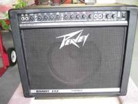 Like new Peavey Bandit Amp (Sheffield) with cover call