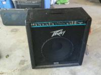 I have a peavey Combo 115 bass amp. U.S.A. made. with a