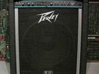 Peavey TKO 80 bass amp featuring a Black Widow speaker.