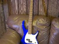 I HAVE ONE SWEET PEAVEY MILESTONE BASS WITH NEW