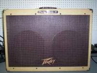 peavey classic 50 in good condition. tubes and speakers