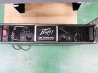 I have in very good condition a Peavey Cs4080hz power