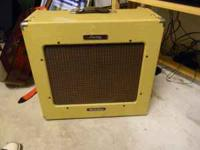 Have a Peavey Delta Blue 115 Tube amp/30W. Very Loud,