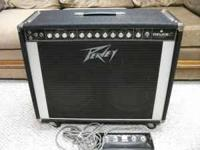 For sale is an older Peavey Deuce VT 2x12 amp with