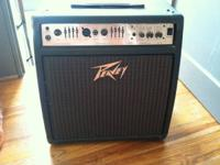 For sale is a Peavey Ecoustic 110EFX amplifier. It's in
