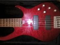 I'm selling my gorgeous translucent red quilted top