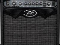 Peavey 30 watt VYPYR guitar amp. Great effects, good