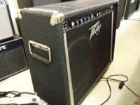 Peavey Guitar AMP 120 v 400 Watts with foot switch .