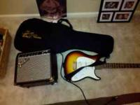 I have a Peavey Guitar and Fender Amp, both in