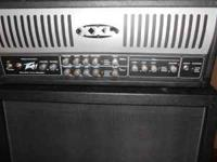 100W solid state Peavey XXL head and footswitch with