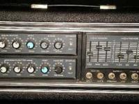 This is a Peavey Musician Mark III Series amp head and