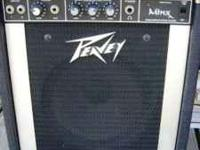 For sale is a Peavey Minx 110 bass amp. 30 watts at 8