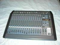 Brand new Peavey mixer for a band, 18 channels, Still