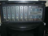 Peavey 400 watt 6 channel pa mixer amp new sp3 black